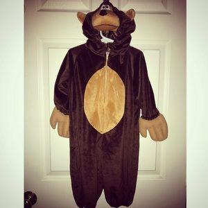 Other - Halloween Costume Monkey Kids XS Zip One Piece